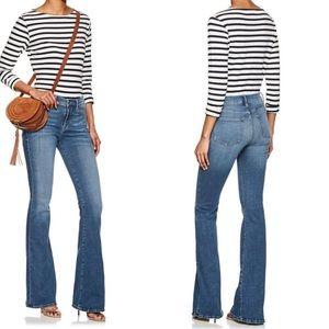 NWT Frame Denim Le high flare jeans splurge 28